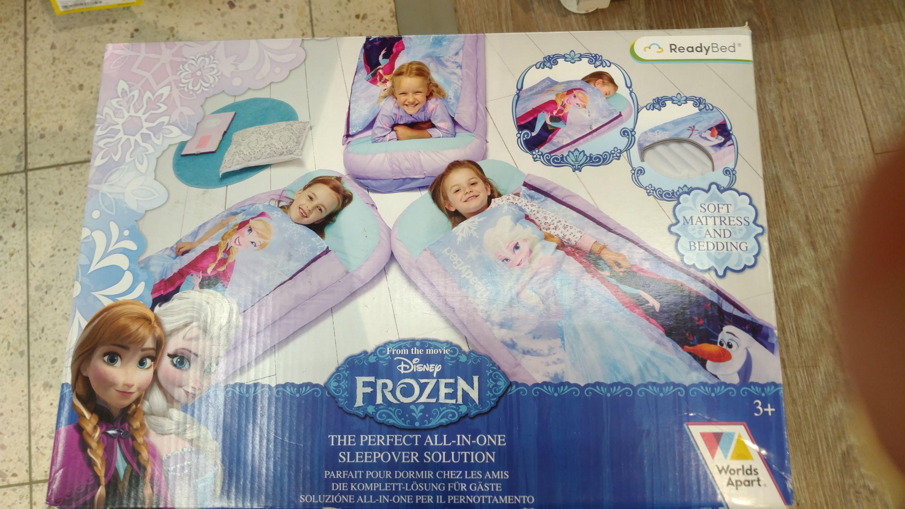 Łóżko dmuchane Frozen Kraina Lodu (Tesco)