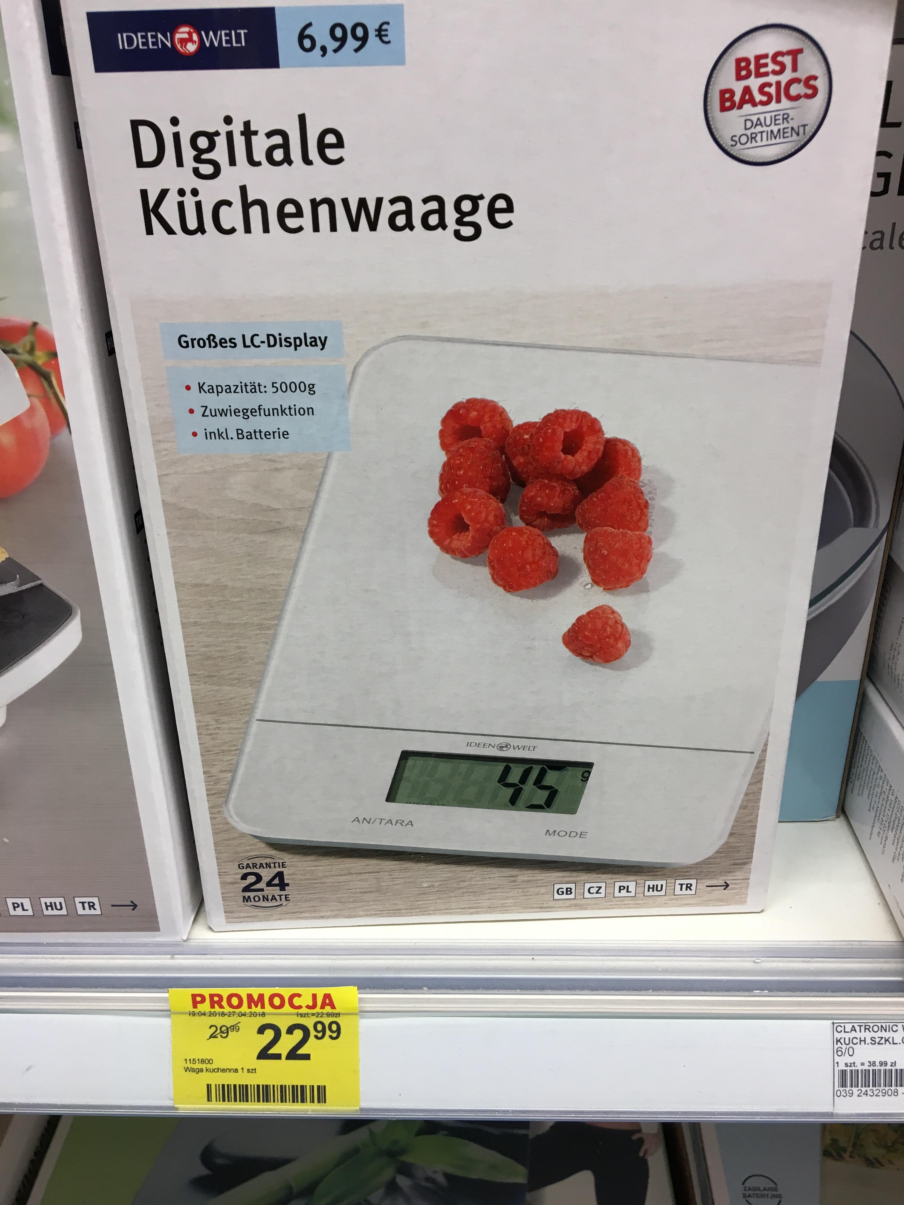 Waga kuchenna w super cenie 22.99 zł