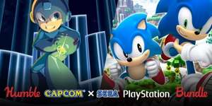 Humble Capcom X SEGA PlayStation Bundle (PS3, PS4, PS Vita)