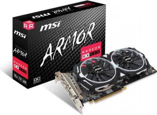 MSI Radeon RX 580 ARMOR 8G OC, 8GB