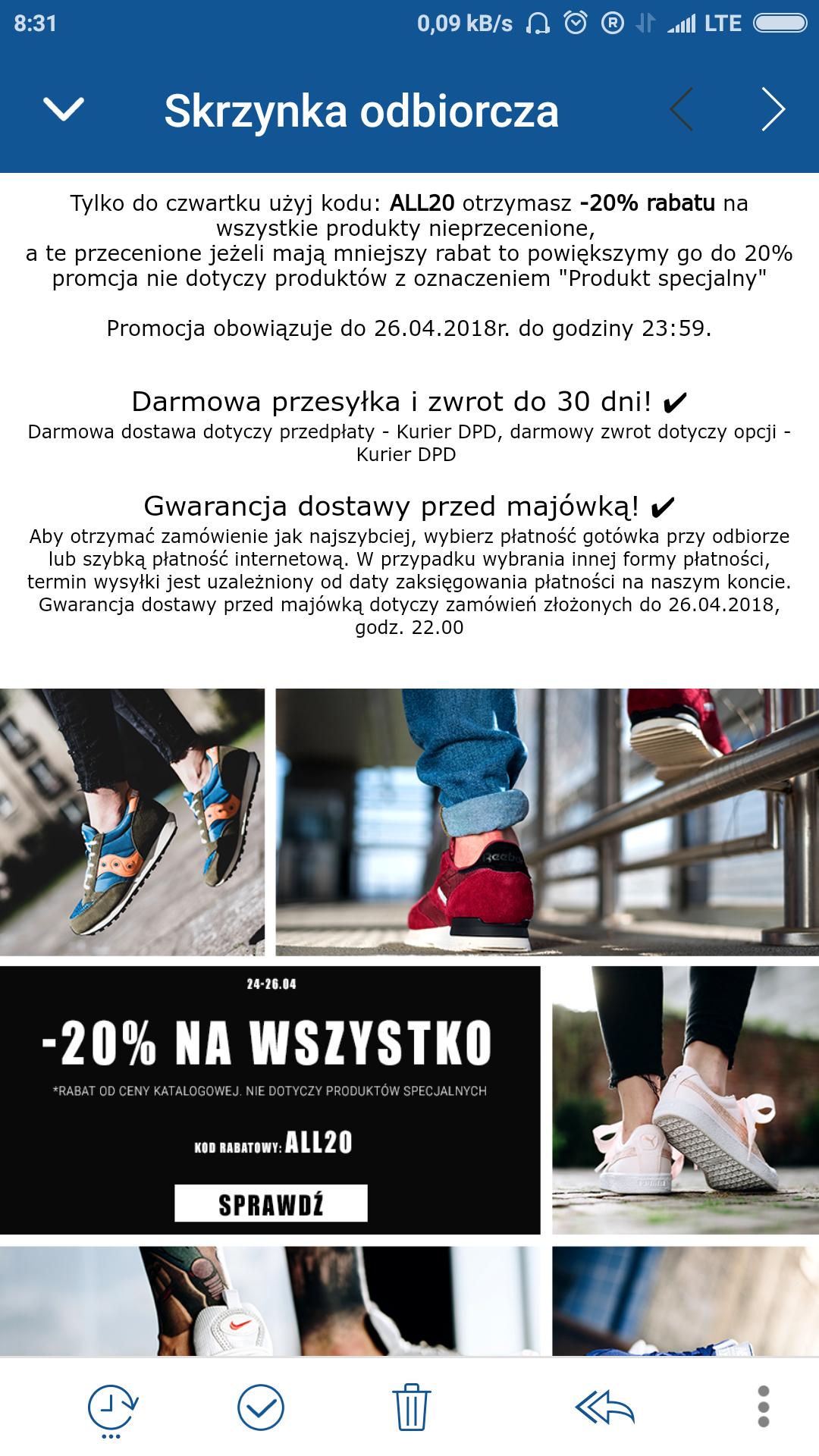 Sneakerstudio.pl - 20% zniżki