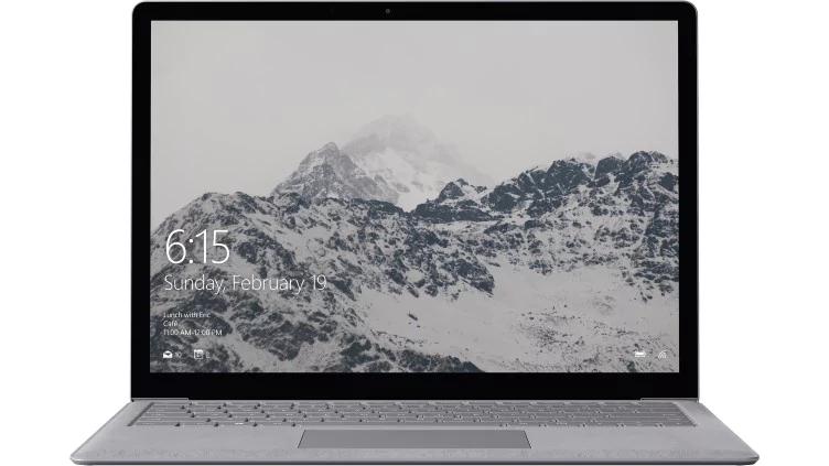 Surface Laptop - 128 GB / Intel Core i5 / 4GB RAM - Platinum