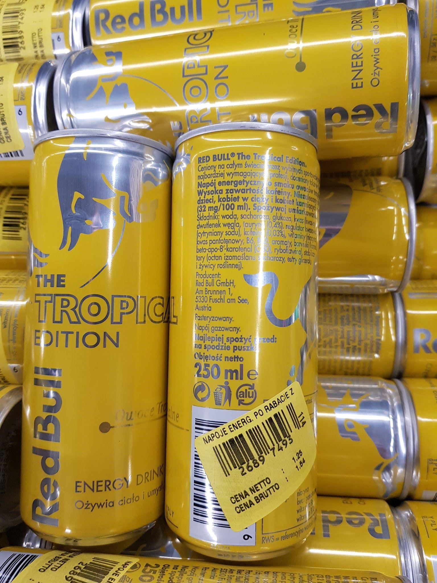 [Makro] Red Bull Owoce tropikalne Napój energetyczny 250 ml