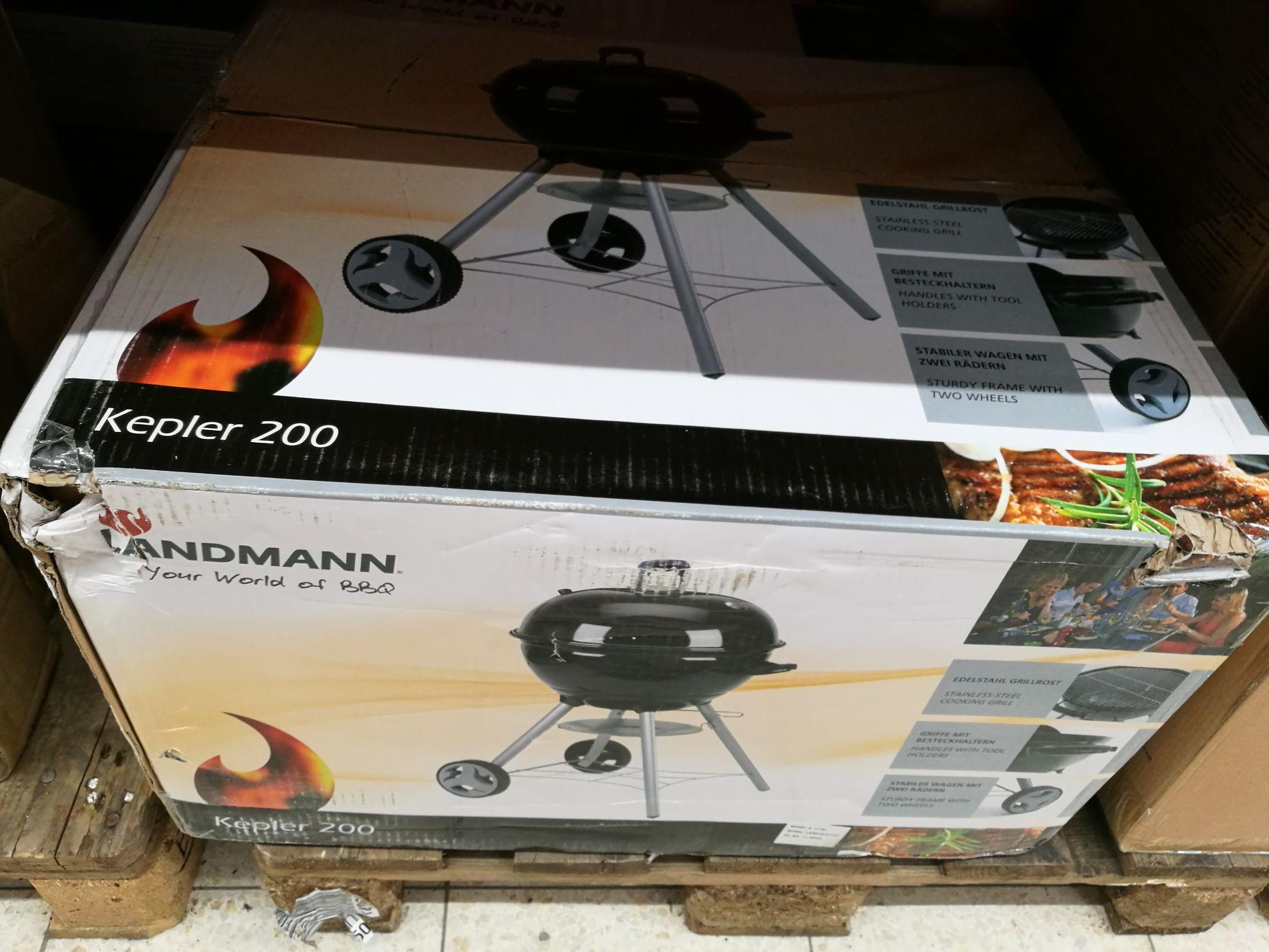 Grill weglowy landmann kepler 200