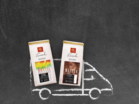 MK CAFE FRESH - dziś darmowa dostawa bez kodów.