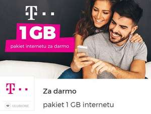 T-Mobile / Heyah 1GB za darmo @goodie