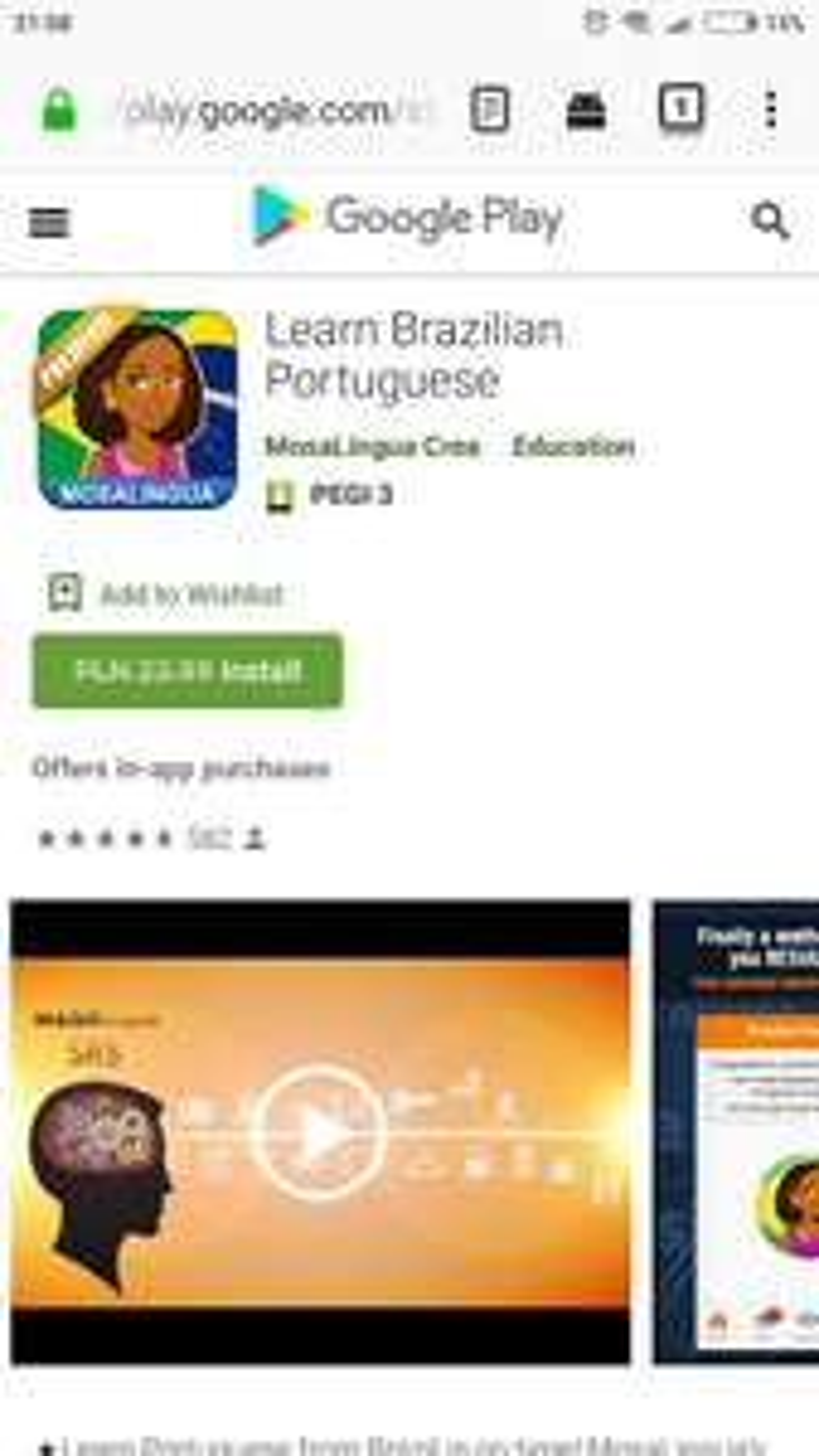 Mosalingua portugalski