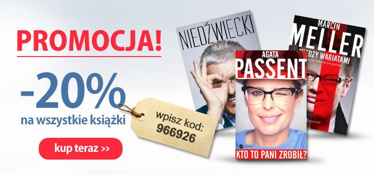 Kod zniżkowy -20% na wszystkie książki @ Agito.pl