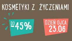 Kosmetyki na dzień ojca do - 45% @ Merlin