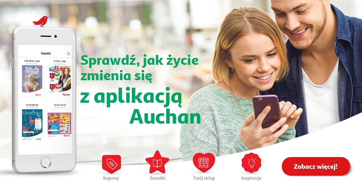 Kody rabatowe. Nowa aplikacja @ Auchan