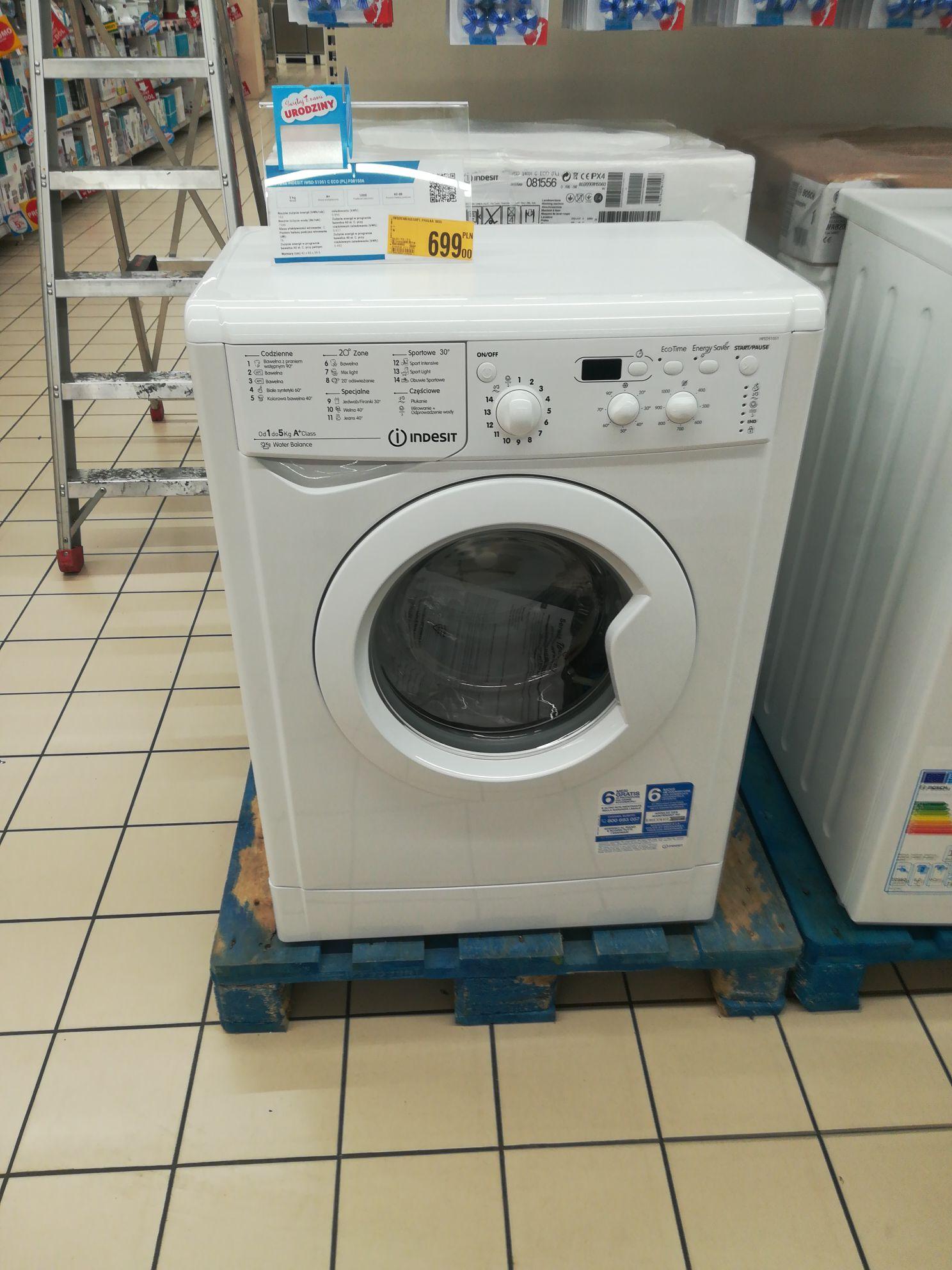 Pralka Indesit IWSD51051CECOPL w Auchan Bonarka