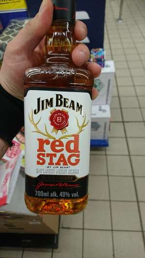 JIM BEAM RED STAG 0,7 w Biedronce