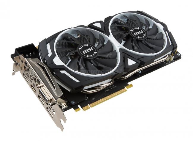 MSI GeForce GTX 1080 ARMOR OC 8GB - Komputronik