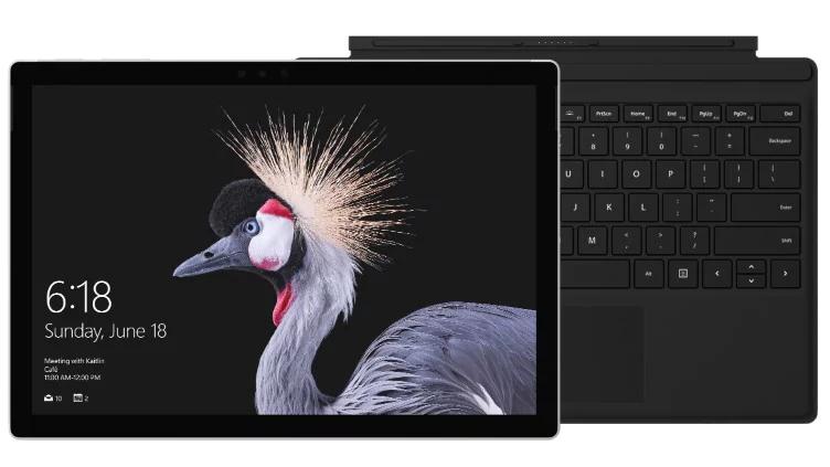 Najnowszy Surface Pro i5 8GB 256GB z czarną klawiaturą Type Cover (tylko do 3 maja!)