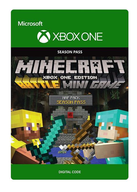 Minecraft: Battle Map Pack Season Pass [DLC, Xbox One] za ~4,80zł z wysyłką @ ShopTo