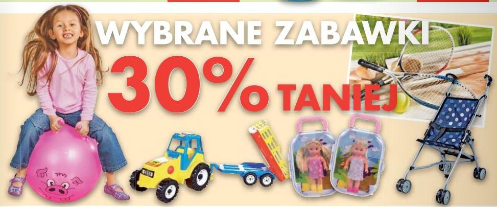 Wybrane zabawki taniej o 30% @ Kaufland