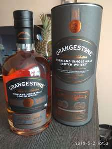 Super Whisky Single Malt Grangestone 0,7 Biedronka