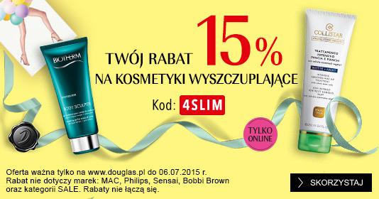 15% zniżki + gratis do zakupów @ Douglas