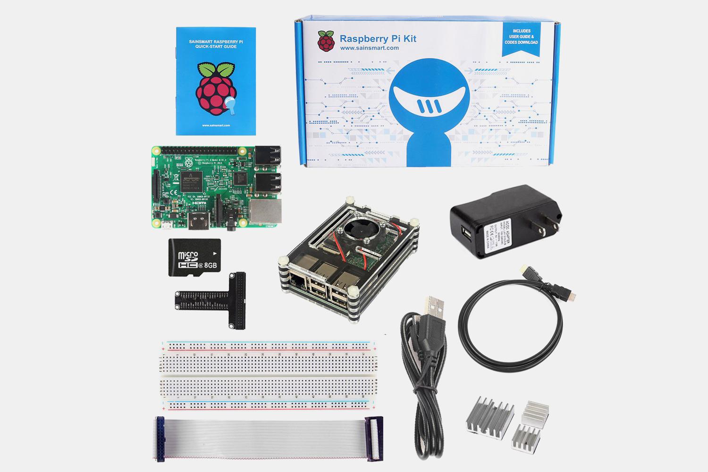Raspberry Pi 3 Bundle Kits $69.99