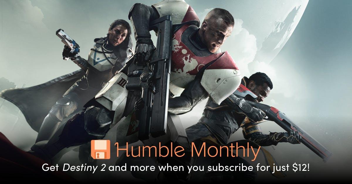 Zapowiedz Humble monthly na czerwiec DESTINY 2