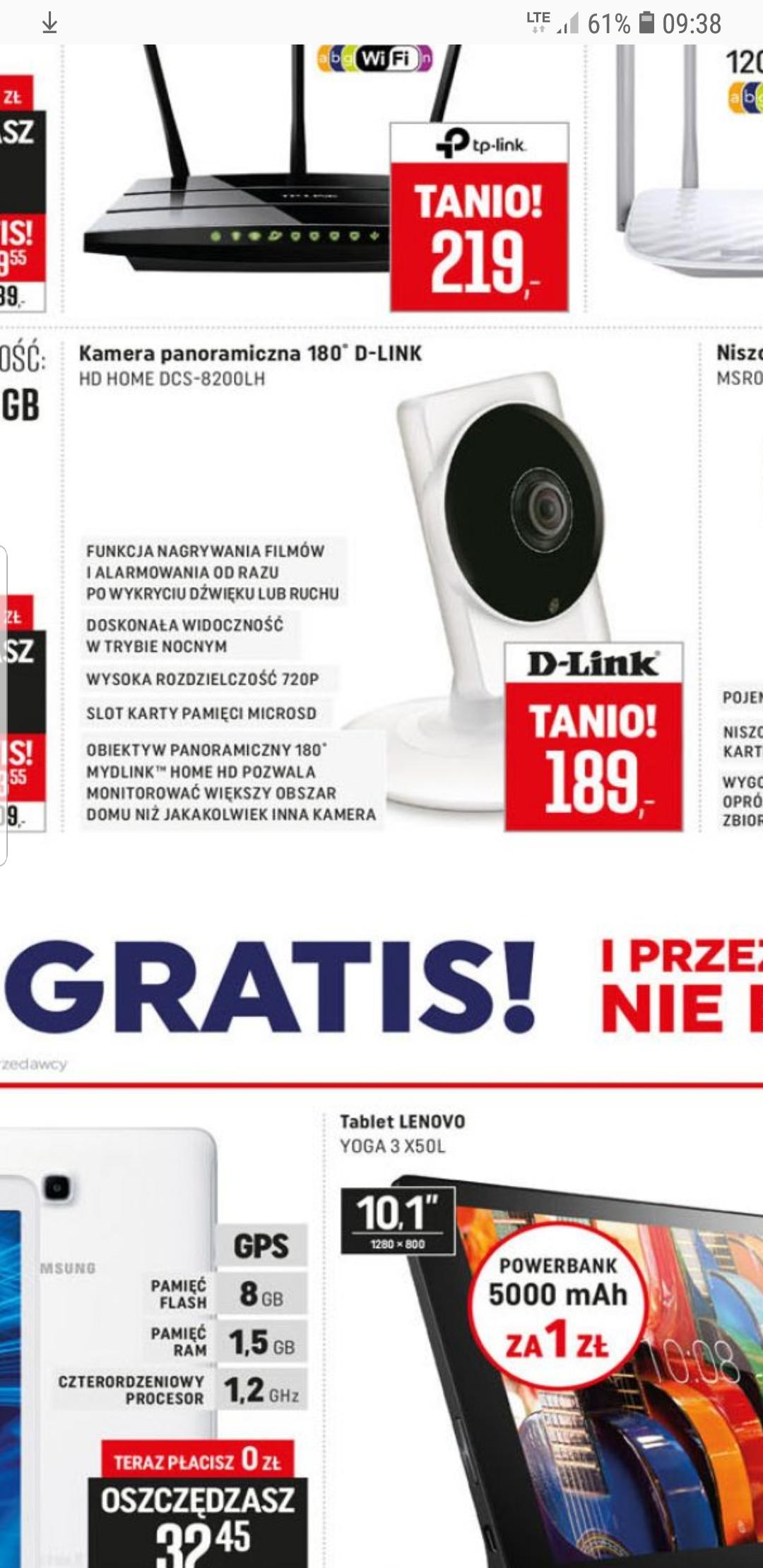 Kamera IP D-LINK dcs-8200lh Okazja