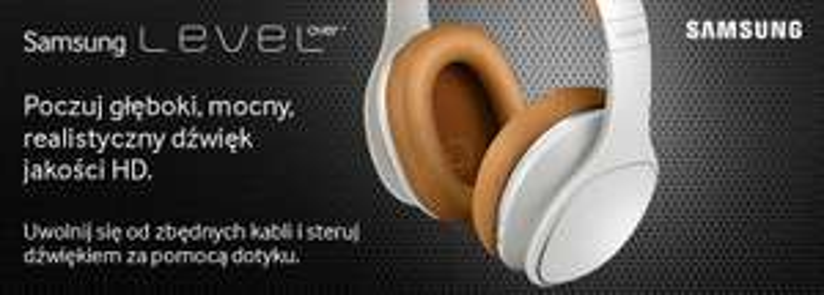 Słuchawki bezprzewodowe Samsung Level-Over-Ear 650zł taniej @ X-Kom