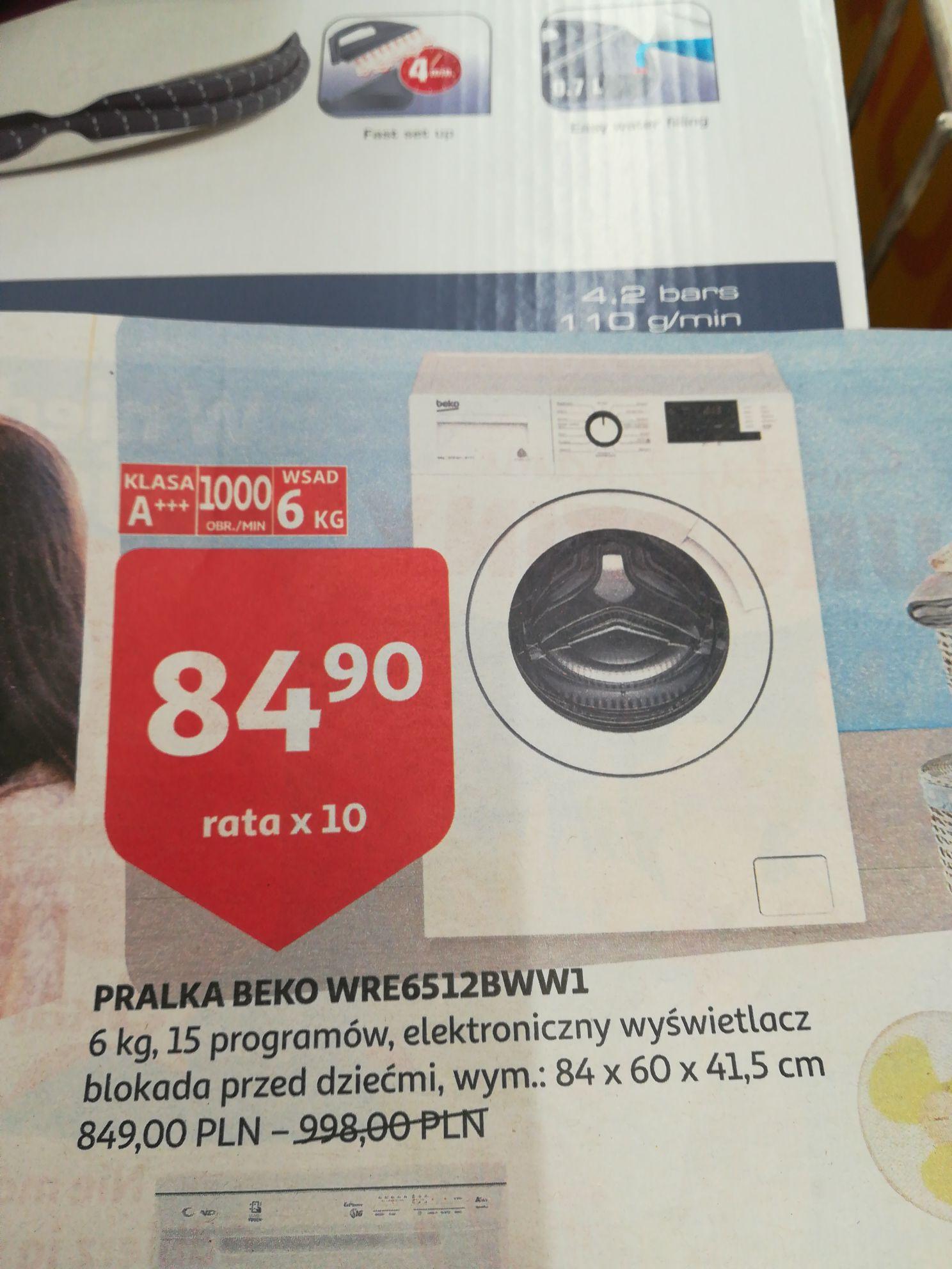 Pralka Beko WRE6512 BWW1 w Auchan Bonarka
