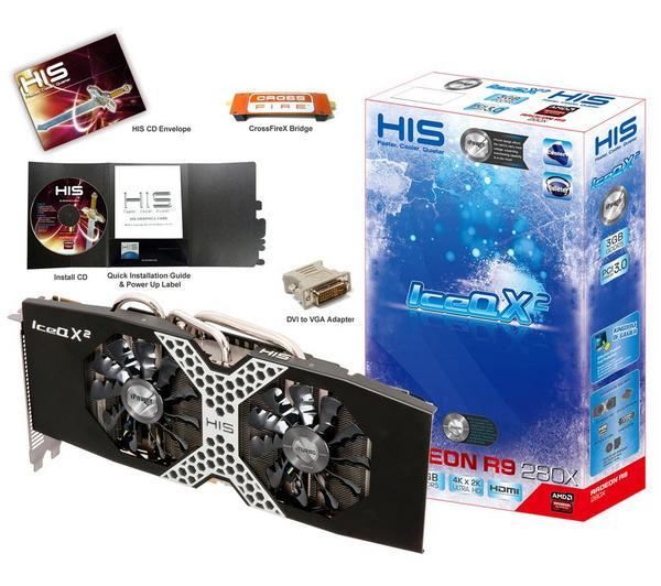 Karta graficzna HIS Radeon R9 280X iPower IceQ X² Boost 3 GB (GDDR5, PCI-express) za 1022,37zł @ Pixmania