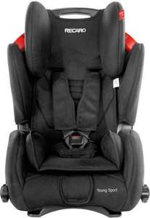 Fotelik samochodowy Recaro Young Sport Black 9-36Kg
