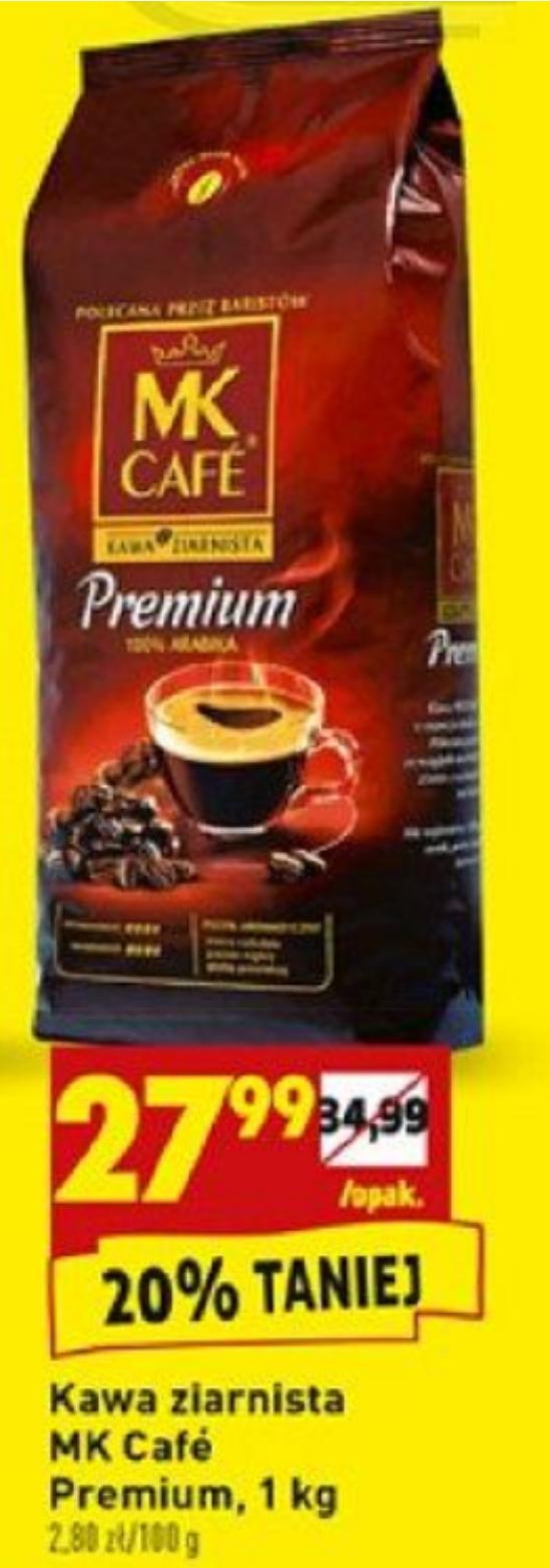Kawa ziarnista MK Cafe Premium 1kg @Biedronka