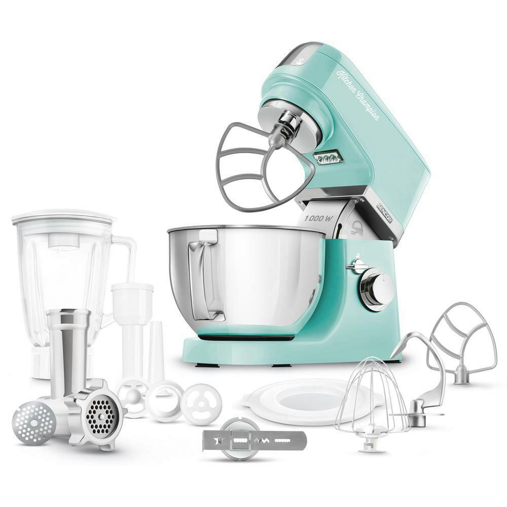 Robot kuchenny sencor 1000W z akcesoriami. 2 kolory. 6 lat gwarancji. Biedronka.