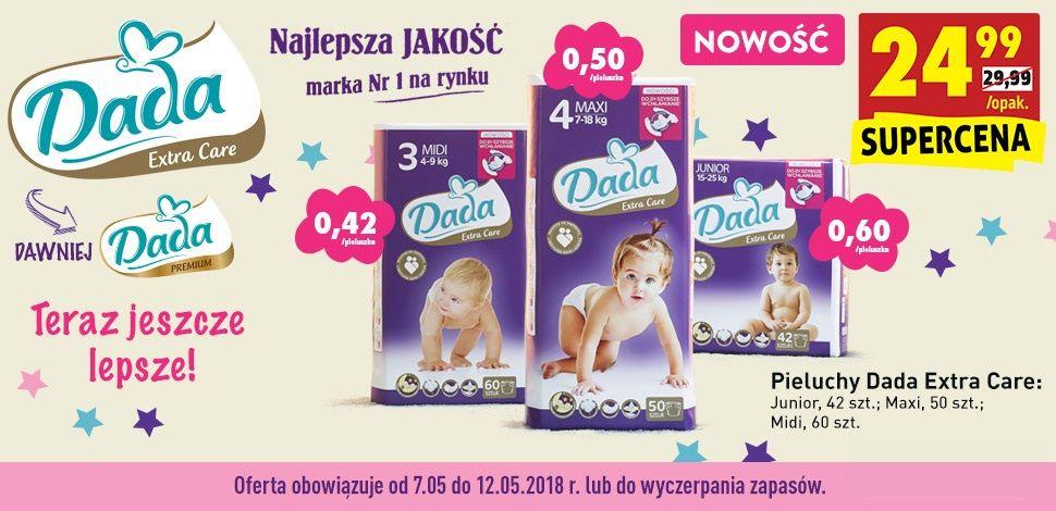 Dada Extra Care dawniej Dada Premium w Biedronce