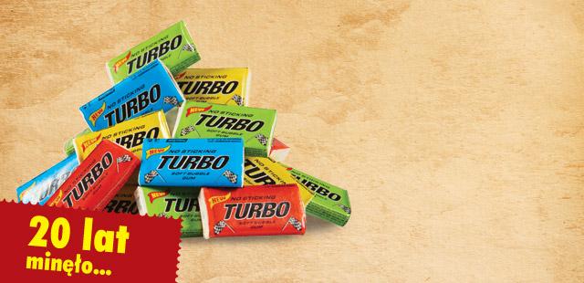 Zapomniana guma balonowa Turbo w cenie 0,29zł/1szt. @ Biedronka