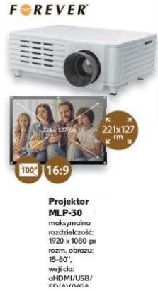 Projektor Forever MLP-30 Kaufland