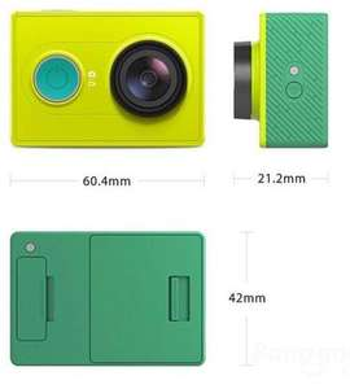 Kamera sportowa Xiaomi Action Camera Yi za 261.54zł @ Banggood