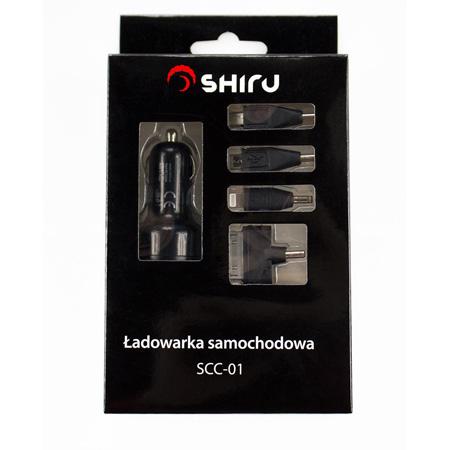 Uniwersalna ładowarka samochodowa SHIRU za 13zł (np. iPhone, Android) @ X-Kom