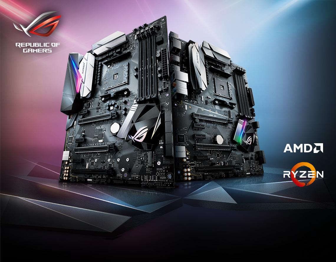 Cashback ASUS RoG za zestaw płyta + AMD Ryzen
