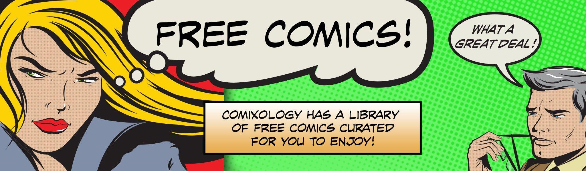 126 komiksów za darmo @comixology
