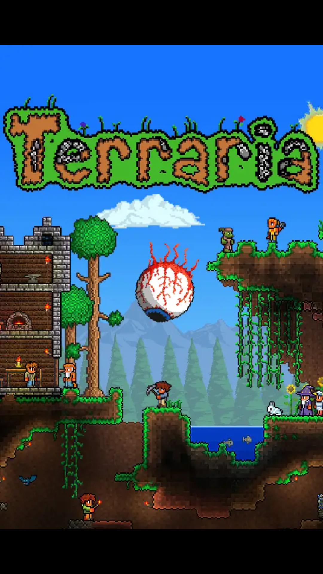 Terraria, gra na android.