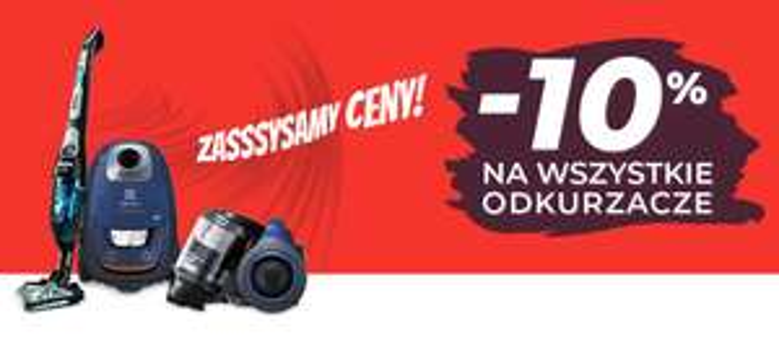 -10% na wszystkie odkurzacze w neo24.pl