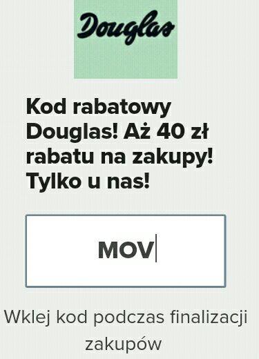 -40 zł douglas