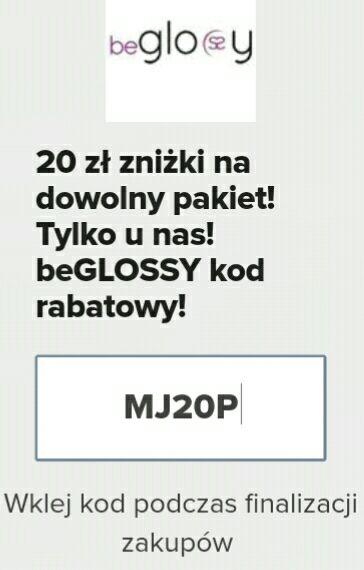 -20 zł na beGLOSSY