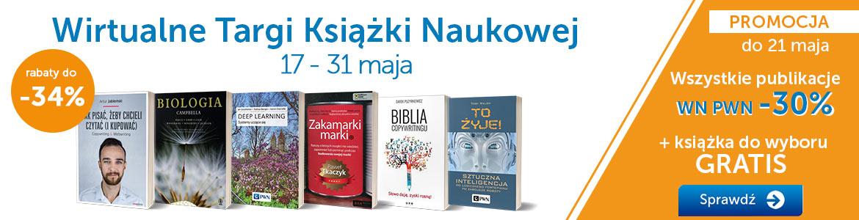 -30% na wszystkie tytuły wydawnictwa PWN + książka gratis @ Księgarnia PWN