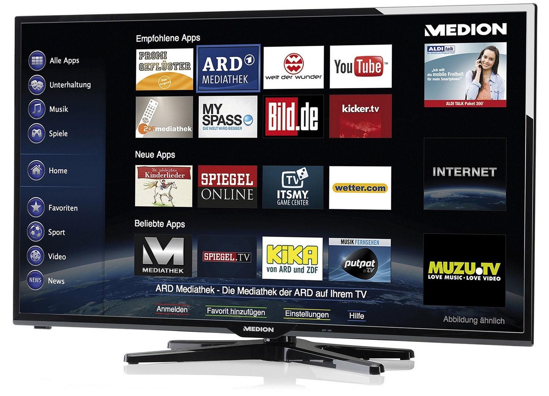 TELEWIZOR Medion LED 50'' FULL HD DVB-S2 SMART TV Wi-FI