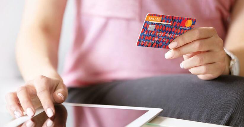 300zł za kartę kredytową w ING