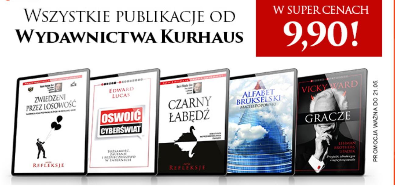 NEXTO e-booki wydawnictwa Kurhsus Publishing 9.90zł - PREMIUM 5.94zł