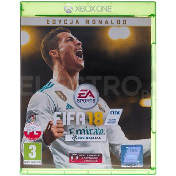 FIFA 18 Edycja Ronaldo XBOX ONE (możliwe 78 zł z mBank)