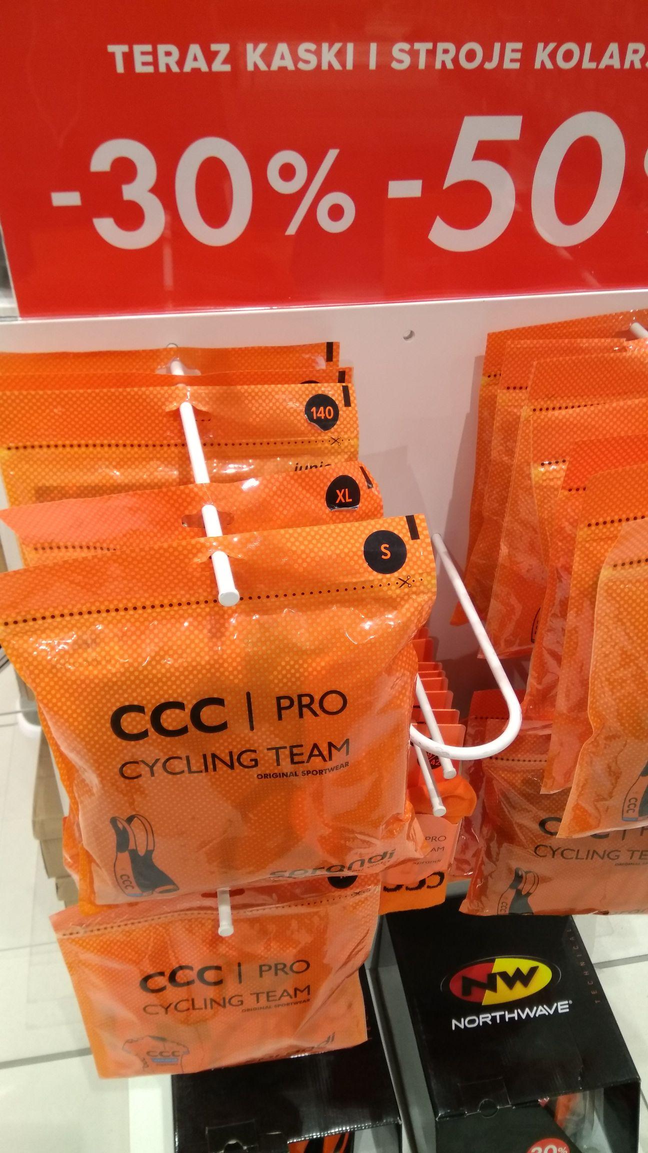 CCC stroje kolarskie - 50%