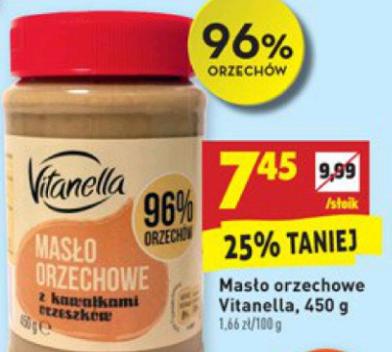 Biedronka masło orzechowe 96%