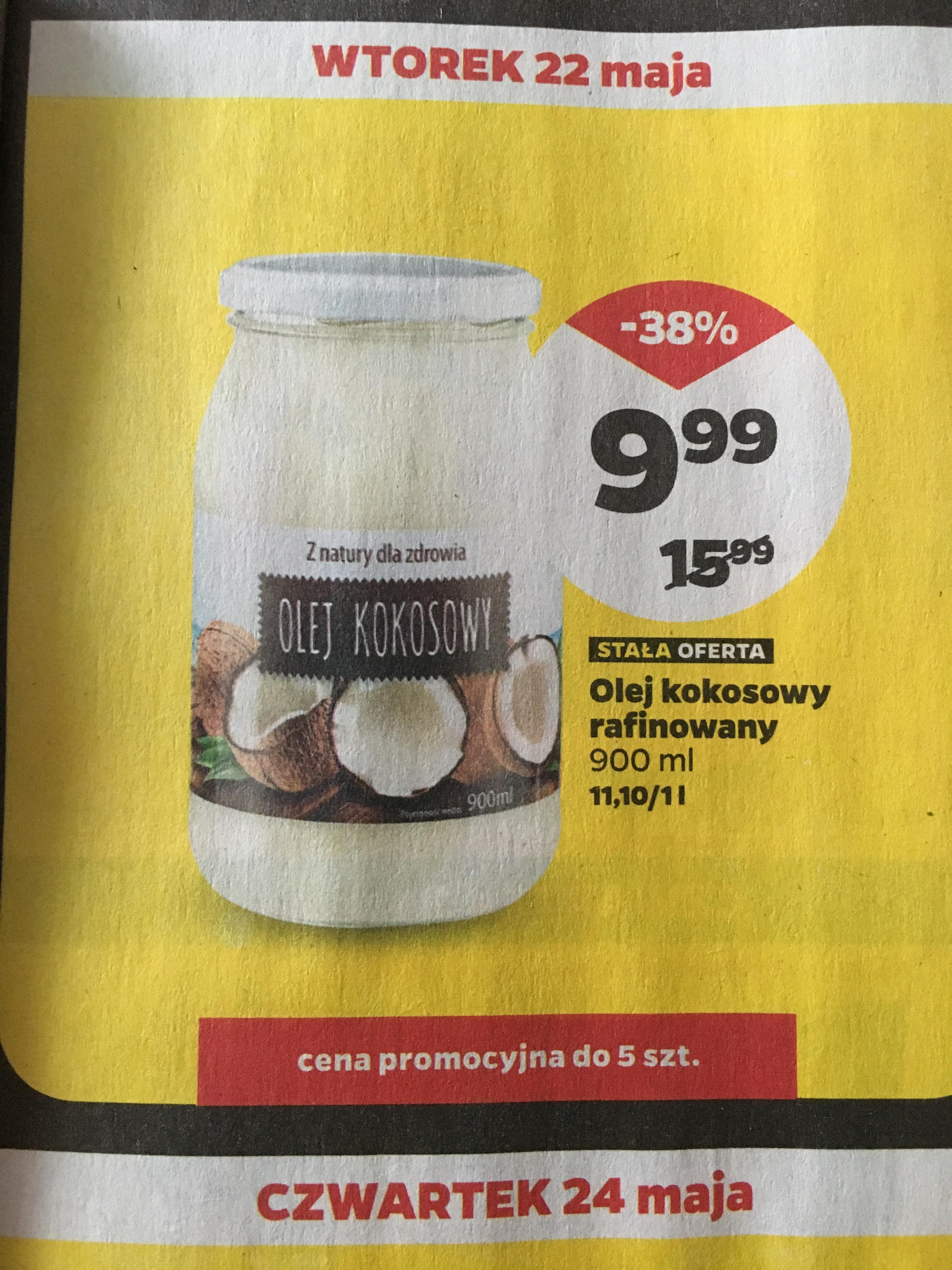 Olej kokosowy rafinowany @netto